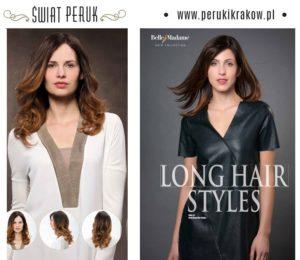 peruki z włosów naturalnych